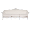 The Nadia : Cream Tufted Sofa