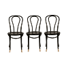 The Penns: Black Bentwood Chairs