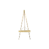 The Michelangelo : Large Gold Easel