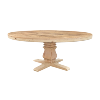 The Rock Creek:  Round Pedestal Table