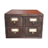 The Devin: Small Card Catalog