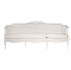 The Chloe: Cream Tufted Sofa