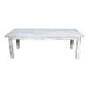 The Dupont: White Washed Farm Tables