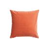 The Citron: Orange Velvet Pillows