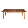 The Classic: Reclaimed Wood Farm Tables
