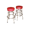 The Melvin: Retro Bar Stools