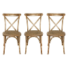 The Sonoma: Crossback Chairs