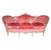 The Alice: Coral-Pink Vintage Sofa