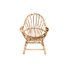 The Wyatt: Boho Rattan Chair