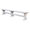 The Dupont: Whitewashed Benches
