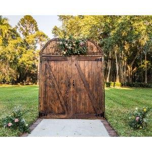 Barn Door Arch