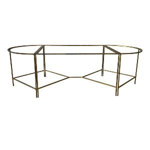 3 Piece Gold Coffee Table