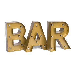 Small Bar Marquee Sign