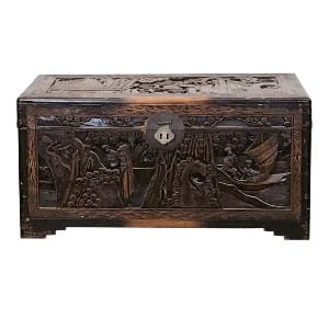 Asian Wooden Trunk