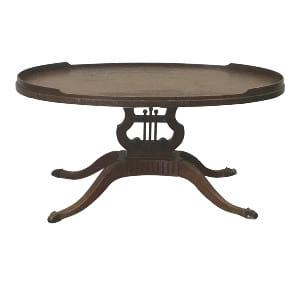 Vintage Harp Coffee Table