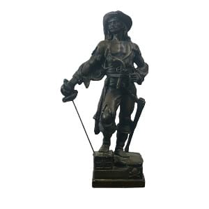 Calico Jack Pirate Statue