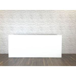 Signature White Bar 8 Foot