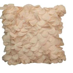 Pink Petal Pillow