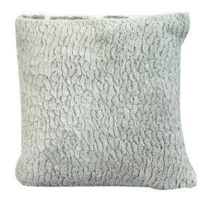 Teal Fluff Pillow