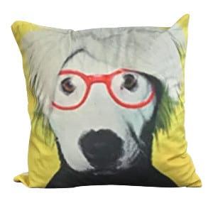 Warhol Puppy Pillow