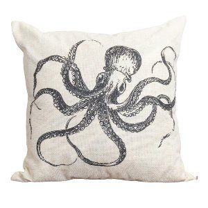 Octopus Accent Pillow