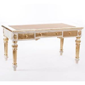 Gold Leaf Writing Desk