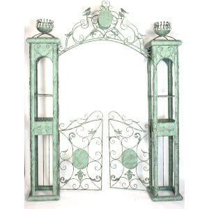 Ada Patina Garden Gate Arch
