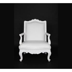 Windsor White Ladies Side Chair