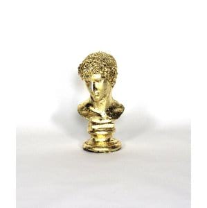 Alexander The Great Gold Leaf Bust