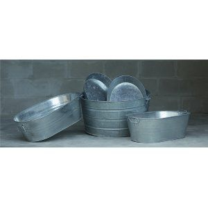 Galvanized Trays