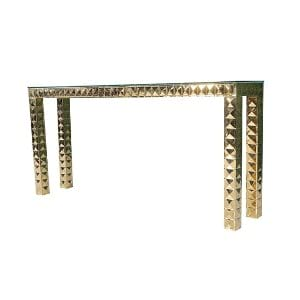 Gold Community High Top Table