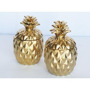 Gold Pineapples (Med)