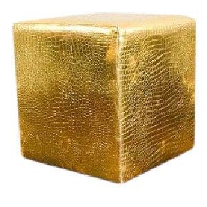 Gold Croc Cube