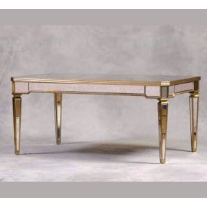 Antique Mirror Dining Table