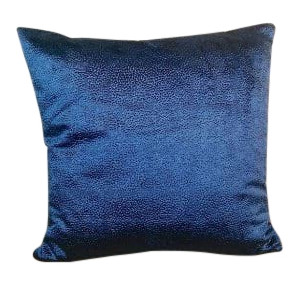 Blue Suede Pillow