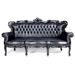 Windsor Black Sofa