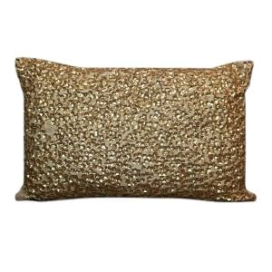 Gold Sequin Pillow 4