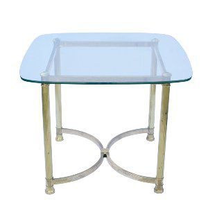 Hollywood Brass End Table