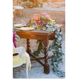 Barley Twist Leg Table