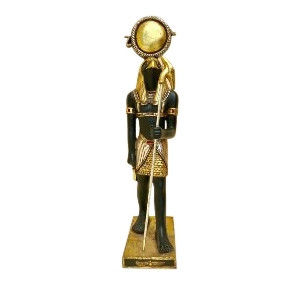 Horus Guilded Small Statue