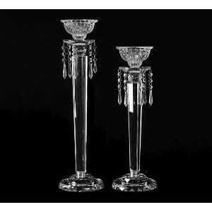 Crystal Candlesticks Small