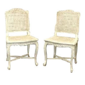 Antoinette Cane Side Chairs