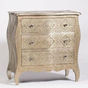 Boho Silver Dresser