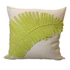 Yellow Leaf Pillow