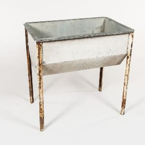 Rustic Beverage Trough