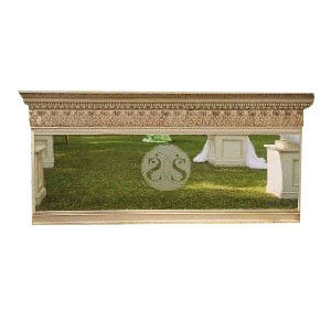 Antoinette Mirrored Bar 8 Foot