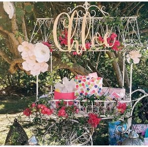 Chloe Flower Cart