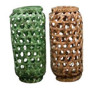 Natural Basket Lantern
