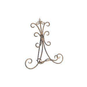 Brass Swirl Tabletop Easel