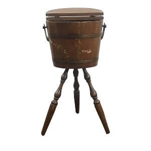 Antique Wooden Churn